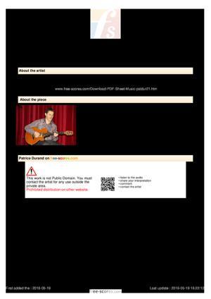 Sheet Music Guitar Boogie