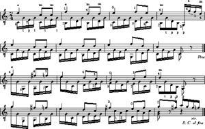 Sheet Music Andantino