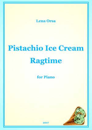 Sheet Music Pistachio Ice Cream Ragtime