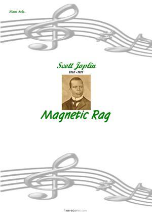 Sheet Music Magnetic Rag