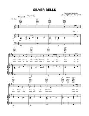 Sheet Music Christmas Sheet Music - Silver Bells